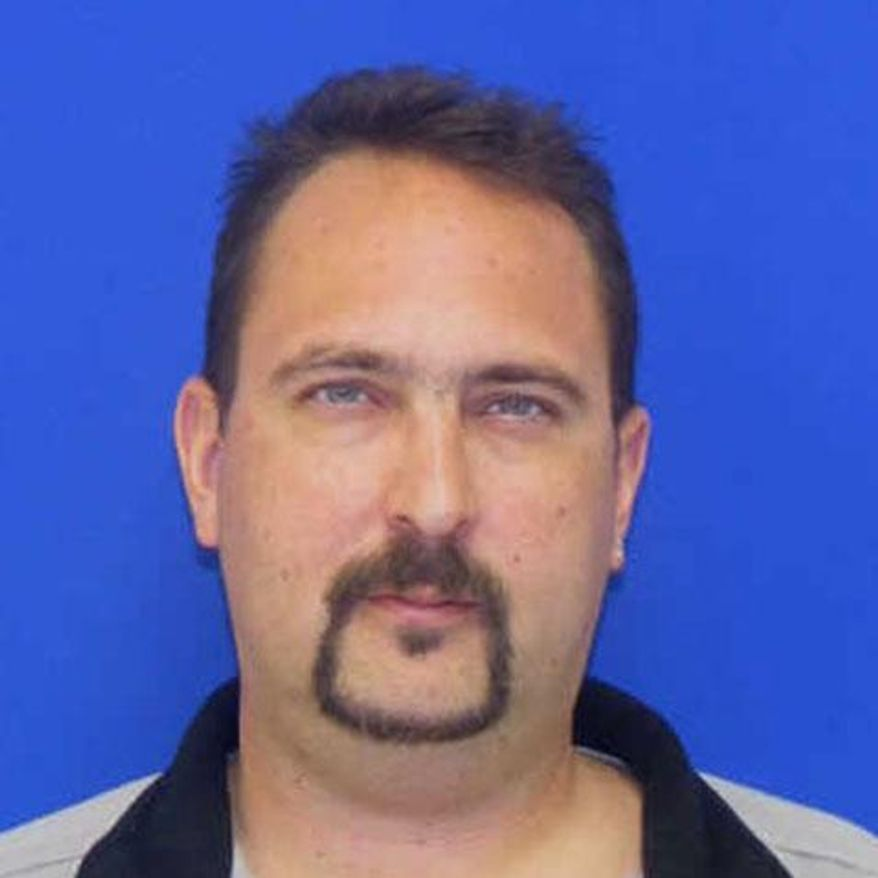 This photo provided by the Federal Bureau of Investigation shows Timothy Virts. Police searched Thursday for an 11-year-old girl who was reported missing after her mother was found slain in their home in Dundalk. Baltimore County Police believe the girl, Caitlyn Virts, is with her father, 38-year-old Virts, and they are concerned for her safety, department spokeswoman Elise Armacost said. (AP Photo/Federal Bureau of Investigation)