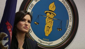 "Actress Mariska Hargitay of NBC's ""Law & Order"" (Associated Press/File)"