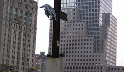 """The Miracle Cross, or Ground Zero Cross, was found by construction worker Frank Silecchia, who told the """"Today"""" show that the cross comforted him. (Wikipedia)"""