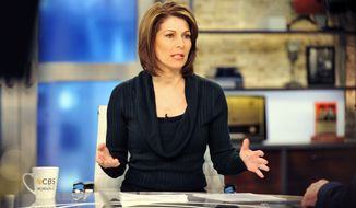"Investigative correspondent Sharyl Attkisson is seen here Jan. 13, 2012, in New York during a broadcast of ""CBS This Morning."" (Associated Press/CBS, John P. Filo)"