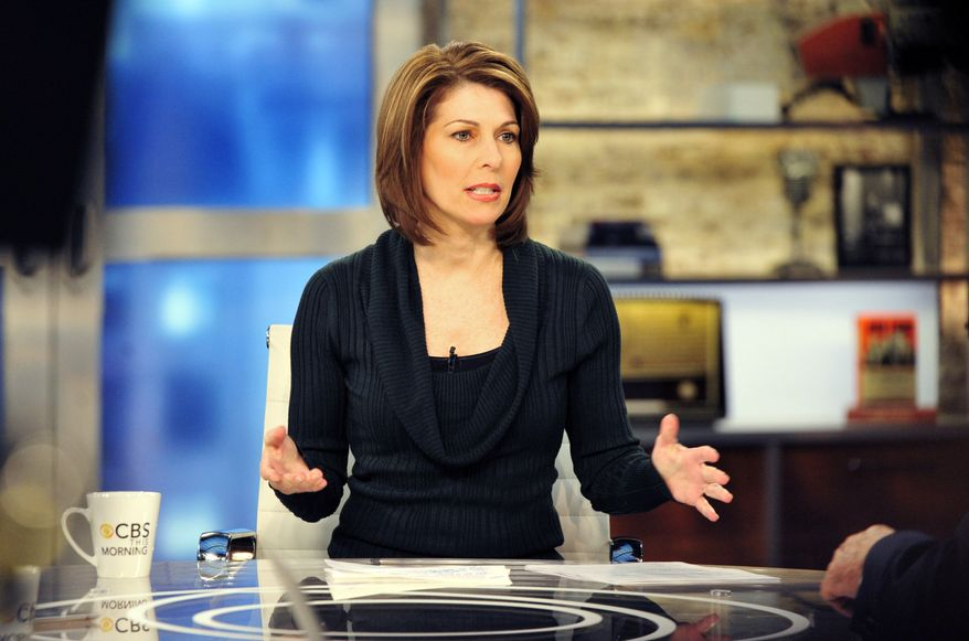 """Investigative correspondent Sharyl Attkisson is seen here Jan. 13, 2012, in New York during a broadcast of """"CBS This Morning."""" (Associated Press/CBS, John P. Filo)"""