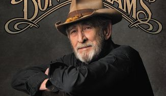 "This CD cover image released by Sugar Hill Records shows ""Reflections,"" by Don Williams. (AP Photo/Sugar Hill)"