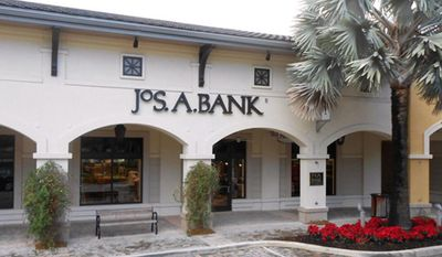 **FILE** A Jos. A. Bank store at the Shops at Midtown Miami in Miami is seen here. (Associated Press/Jos. A. Bank)