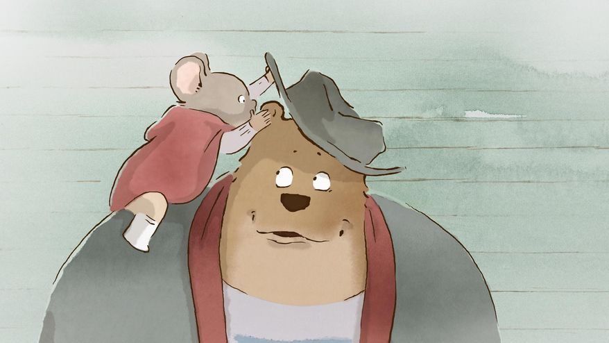 "This image released by Studiocanal shows a scene from the film, ""Ernest and Celestine."" (AP Photo/Les Armateurs-Studiocanal)"