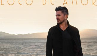 "This CD cover image released by Universal Latino shows ""Loco De Amor,"" by Juanes. (AP Photo/Universal Latino)"