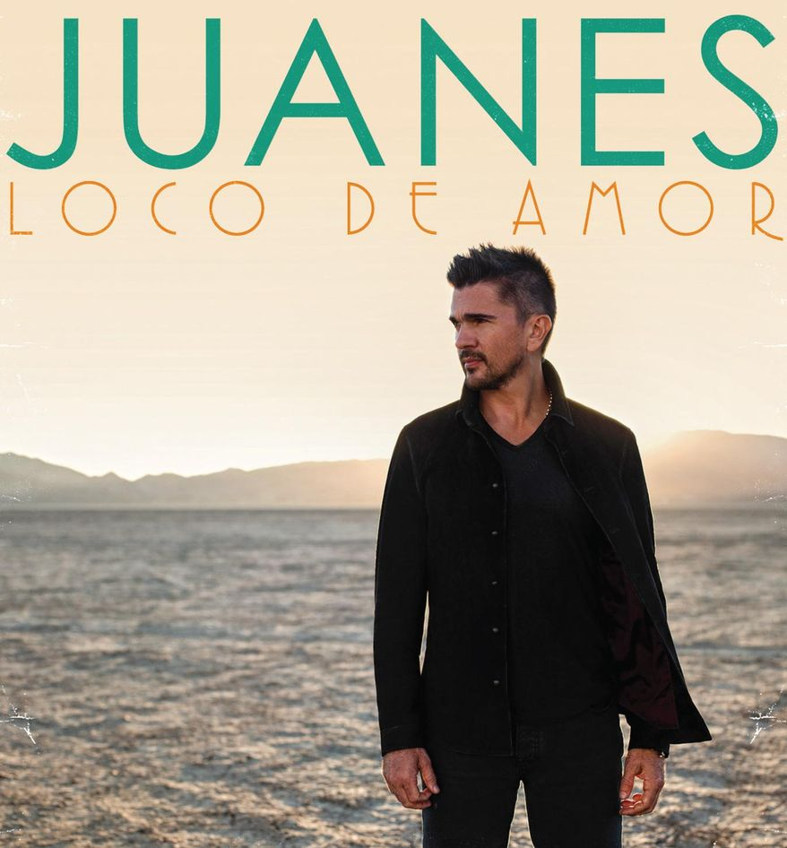 """This CD cover image released by Universal Latino shows """"Loco De Amor,"""" by Juanes. (AP Photo/Universal Latino)"""