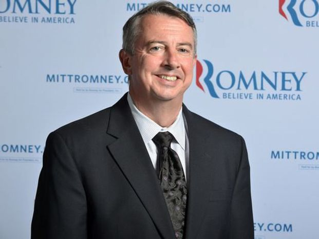 "Former RNC chairman and U.S. Senate hopeful Ed Gillespie counsels the GOP to push a positive agenda and straightforward talk. ""We can turn things around with the right ideas,"" Mr. Gillespie told a recent Ripon Society forum. (Associated Press)"