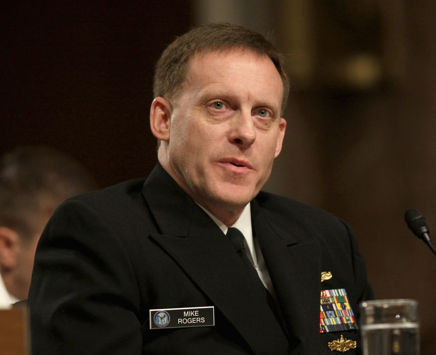 Navy Vice Adm. Michael Rogers, nominated to head Cybercom and the National Security Agency, says the Russian military is using sophisticated cyberwarfare capabilities against Ukraine as part of its incursion in Crimea. (Associated Press)