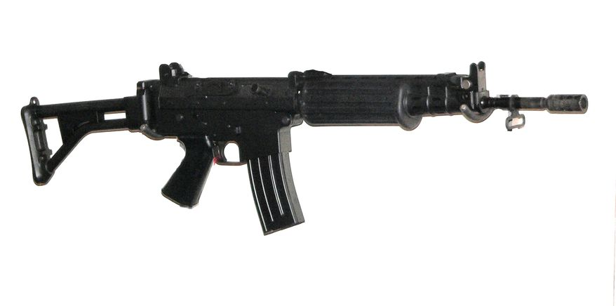 The FNC (Fusil Nouveau Type Carabine) is a 5.56mm assault rifle developed by the Belgian arms manufacturer Fabrique Nationale (FN) of Herstal and introduced in the late 1970s. The rifle was developed between 1975–1977 for NATO standardization trials. The rifle's design is based on the FNC 76 prototype, which itself originated from the commercially unsuccessful FN CAL rifle. This prototype was soon withdrawn from the NATO competition after performing poorly due to its rushed development. Later trials for the Swedish Armed Forces held between 1981–1982 using updated prototypes proved the utility and efficiency of the design, impressing both the Swedish military and Belgian army staff back at home. The FNC was finally adopted by the armed forces of Belgium in 1989, as a service-wide replacement for the 7.62mm-caliber FN FAL after having been issued in small numbers to airborne infantry units for several years.