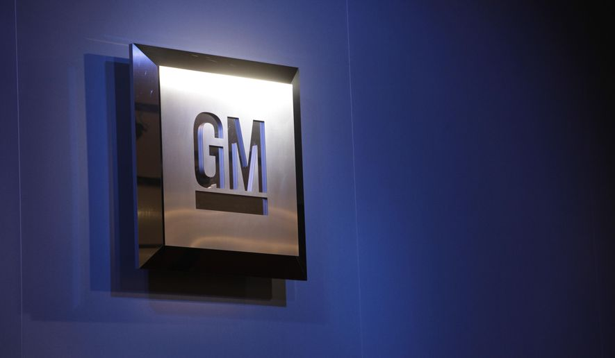 FILE - In this Jan. 12, 2009 file photo, the General Motors logo is on display at the North American International Auto Show in Detroit.  General Motors is offering free loaner cars to owners of compacts that are being recalled for a deadly ignition switch defect, the company said Wednesday, March 12, 2014. The company also will offer a $500 cash allowance to owners who want to buy or lease a new GM vehicle. (AP Photo/Paul Sancya, File)