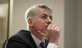 FILE - This Feb. 6, 2012, file photo, shows William Ackman, of Pershing Square Capital Management, in Toronto. On Tuesday, March 11, 2014, Ackman held a public event to detail his firm's claims of how Herbalife is operating as a pyramid scheme in China, violating laws there. On Wednesday, Herbalife Ltd. said that it is facing an inquiry from the Federal Trade Commission. (AP Photo/The Canadian Press, Pawel Dwulit, File)