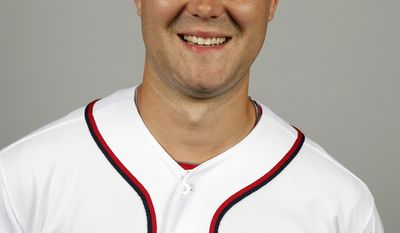 This is a 2014 photo of Matt Purke of the Washington Nationals baseball team. This image reflects the Nationals active roster as of, Sunday, Feb. 23, 2014, when this image was taken. (AP Photo/Alex Brandon)