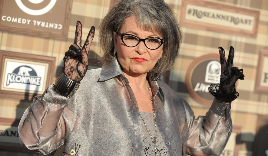 Roseanne Barr attends the Comedy Central Roast of Roseanne at the Hollywood Palladium in Los Angeles on Aug. 4, 2012. (Jordan Strauss/Invision/Associated Press) **FILE**