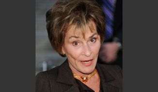 In this Tuesday, April 17, 2012 photo, Judge Judy Sheindlin attends the Vanity Fair Tribeca Film Festival party at the State Supreme Courthouse, in New York. Sheindlin has filed a lawsuit accusing a Connecticut personal-injury lawyer of using her image in advertisements without her permission. (AP Photo/Evan Agostini)