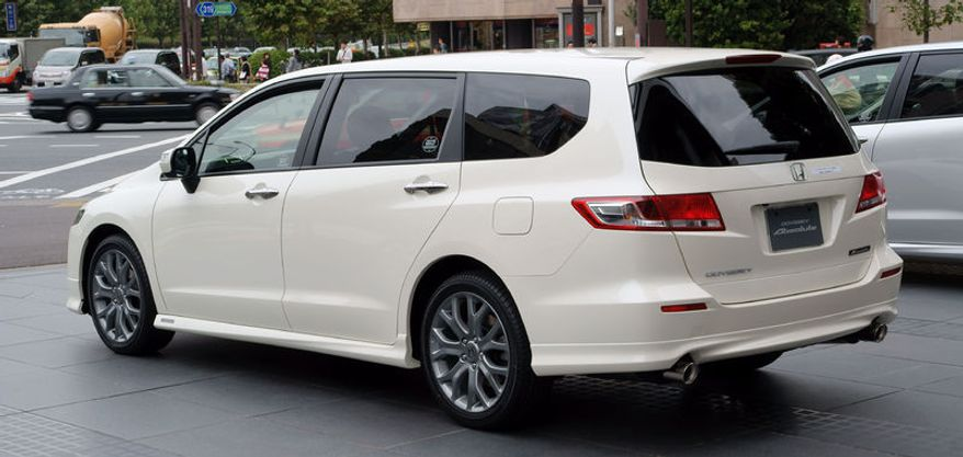 Honda is recalling 886,815 Odyssey minivans in the country because a fuel pump cover can deteriorate and cause a fuel leak, the company announced Saturday. (Wikimedia Commons)