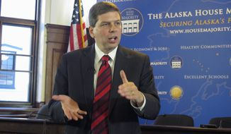 A Public Policy Polling survey released Feb. 4 shows Sen. Mark Begich, Alaska Democrat, with a single-digit edge in hypothetical matchups with the two leading Republican candidates. (Associated Press)