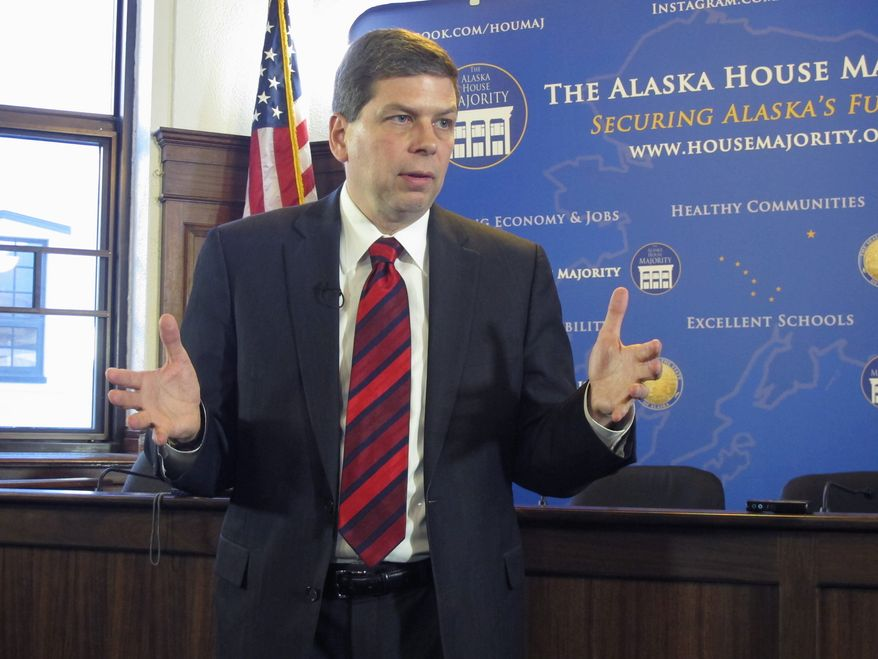 Walking a tightrope: Sen. Mark Begich is facing fights over environmental issues in his re-election bid as he tries to balance Democratic ideals with energy development in a conservative state. (Associated Press)