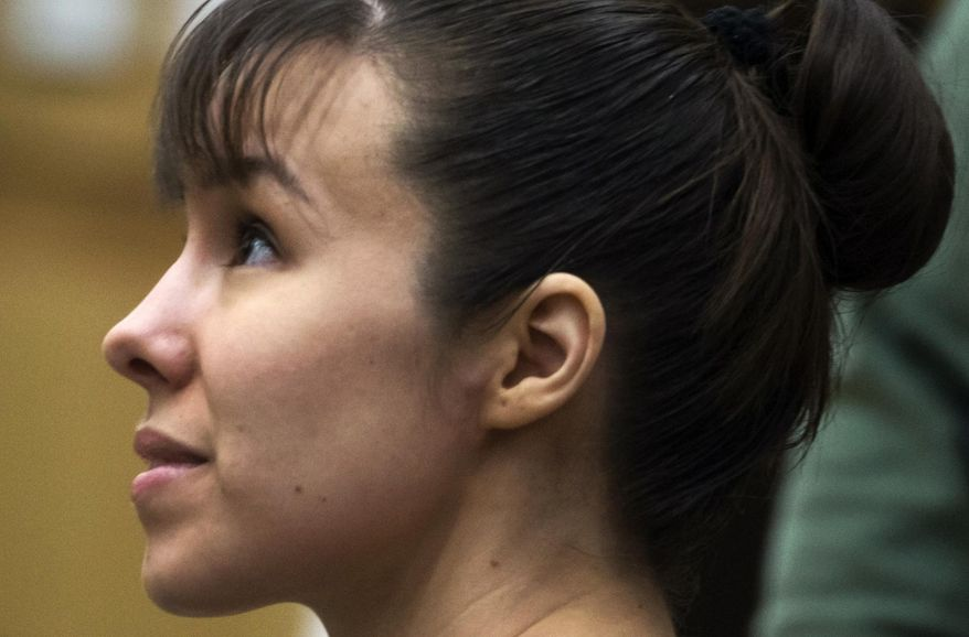 FILE - In this July 16, 2013 file photo, convicted murderer Jodi Arias appears for a hearing in Maricopa County Superior Court in Phoenix. Arias' second penalty phase trial has been scheduled to begin in September, 2014. The 33-year-old former waitress was convicted of first-degree murder in May for the June 2008 killing of her one-time boyfriend in Arizona, but jurors couldn't reach a decision on a sentence. (AP Photo/The Arizona Republic, Mark Henle, Pool, File)