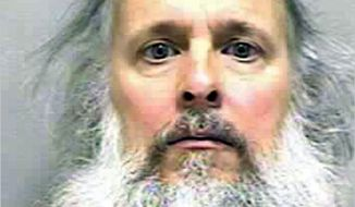 This booking photo released with the West Virginia Regional Jail & Correctional Facility Authority shows Charles Severance. A Virginia man is being held without bond in West Virginia after a prosecutor said he's a suspect in three unsolved slayings in the city of Alexandria over the past decade. Charles Severance is charged in Loudoun County, Va., on an unrelated gun charge. Police arrested him last week in Wheeling, W.Va. (AP Photo/West Virginia Regional Jail & Correctional Facility Authority)