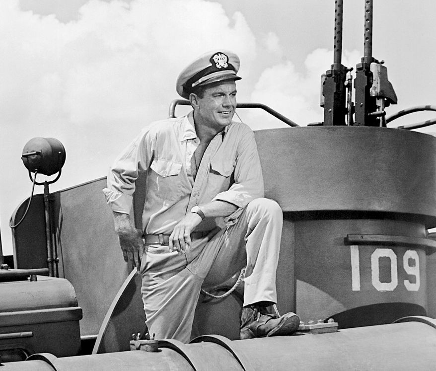 """Cliff Robertson plays a young JFK in """"PT 109"""" (1963)."""
