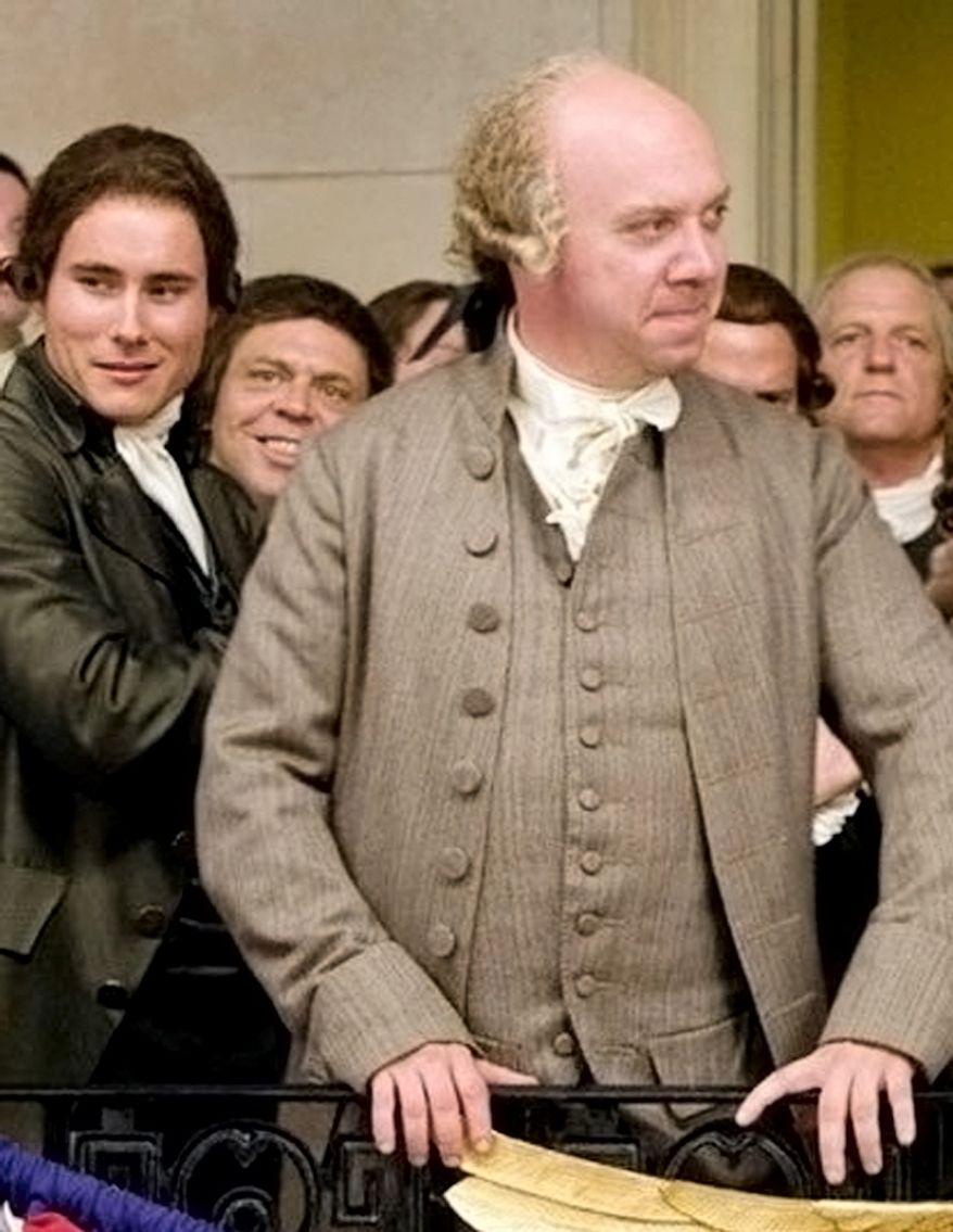 In 2008 Paul Giamatti played John Adams.