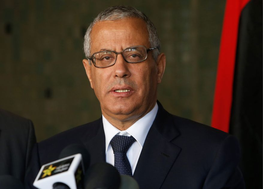 The Libyan parliament voted to oust Prime Minister Ali Zeidan last week over anger at the failure to stop rebels from independently exporting oil. (Associated Press)
