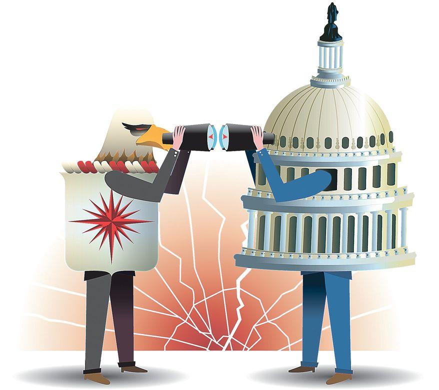 Illustration by Linas Garsys/The Washington Times