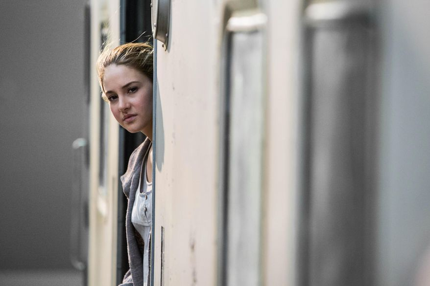 "This photo released by Summit Entertainment, LLC shows Shailene Woodley as Beatrice ""Tris"" Prior, in the film, ""Divergent."" (AP Photo/Summit Entertainment, Jaap Buitendijk)"