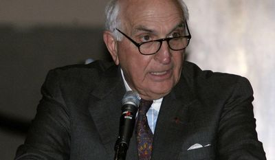 Home Depot founder Ken Langone speaks at the inaugural fundraiser of the 2006 election cycle for political action committee Solutions America  in New York, Tuesday, June 13, 2006.  (AP Photo/Shiho Fukada)