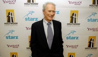 """Some in the academic realm say Clint Eastwood is on a noble quest because he """"embodies America's moral quest"""" and """"search for meaning and purpose."""" (Associated Press)"""