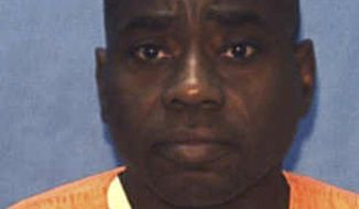In this undated photo provided by the Florida Department of Corrections, Robert L. Henry is shown. Henry, 55, is set to die by lethal injection Thursday, March 20, 2014 at Florida State Prison for the slayings of Phyllis Harris and Janet Cox Thermidor. Henry was working at a South Florida fabric store when he decided to rob the place. According to trial testimony, after Cloth World closed for the day on Nov. 2, 1987, Henry attacked the two women who ran the Deerfield Beach business with a hammer and set both on fire. He later called police and claimed someone else had robbed the store, but one of the women survived just long enough to positively identify him as the assailant. (AP Photo/Florida Department of Corrections)