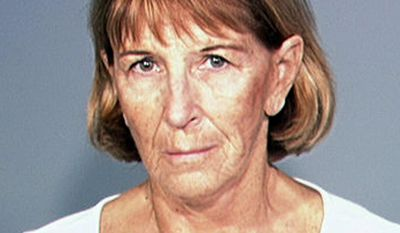 This photo provided by the Dakota County Jail shows Beverly Anne Greenagel, a former Eagan, Minn., home day care provider who was sentenced to 45 days in jail Thursday, March 20, 2014, for placing an infant, Dane Ableidinger, in an unsafe sleep position that contributed to his death and then trying to cover up her mistakes. (AP Photo/Dakota County Jail (Dakota County, Minnesota))