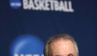 Wisconsin head coach Bo Ryan speaks during a news conference for the third-round game of the NCAA college basketball tournament Friday, March 21, 2014, in Milwaukee. Wisconsin plays Oregon on Saturday. (AP Photo/Morry Gash)