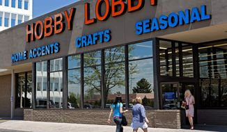 Hobby Lobby, an Oklahoma-based crafts supplies company, found favor before the 10th U.S. Circuit Court of Appeals in Denver last summer, but the government trumped Conestoga Wood Specialties — owned by Mennonites in Pennsylvania — before the 3rd Circuit in Philadelphia. The Supreme Court consolidated two cases for Tuesday's arguments, with each side chalking up a win at the circuit court level. (Associated Press)