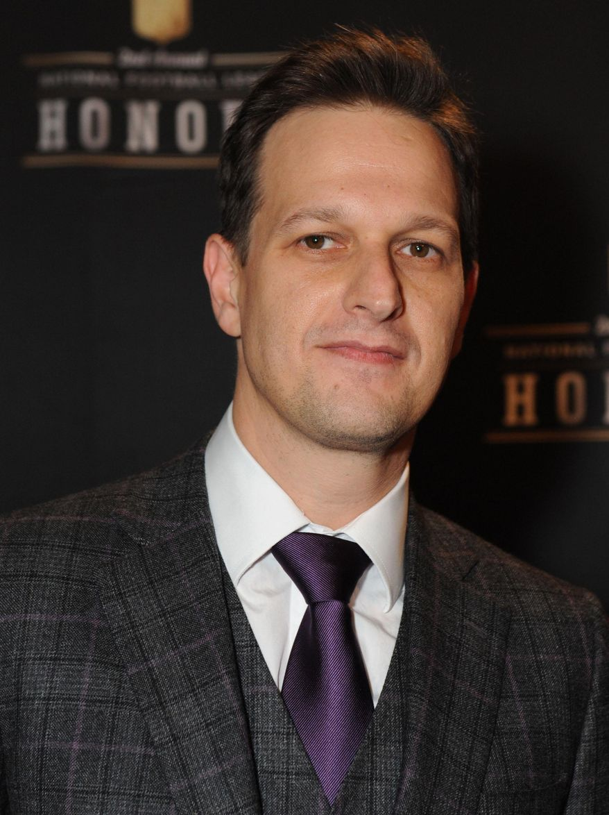 """** FILE ** This Feb. 2, 2013, file photo shows actor Josh Charles at the 2nd Annual NFL Honors in New Orleans. Viewers of """"The Good Wife"""" were gobsmacked by the sudden, unexpected death of its dashing attorney, Will Gardner, on Sunday's episode of the CBS legal drama. (Photo by Jordan Strauss/Invision/AP, File)"""