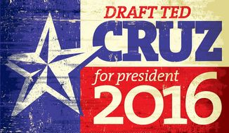 The grassroots effort to draft Sen. ted Cruz to run for president in 2016 is underway. (RunTedrun.com)