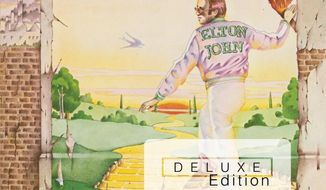 """This CD cover image released by Island Mercury Records shows """"Goodbye Yellow Brick Road,"""" a deluxe edition by Elton John. (AP Photo/Island Mercury Records)"""
