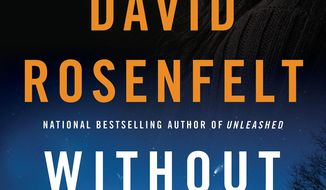 """This book cover image released by Minotaur shows """"Without Warning,"""" by David Rosenfelt."""" (AP Photo/Minotaur)"""