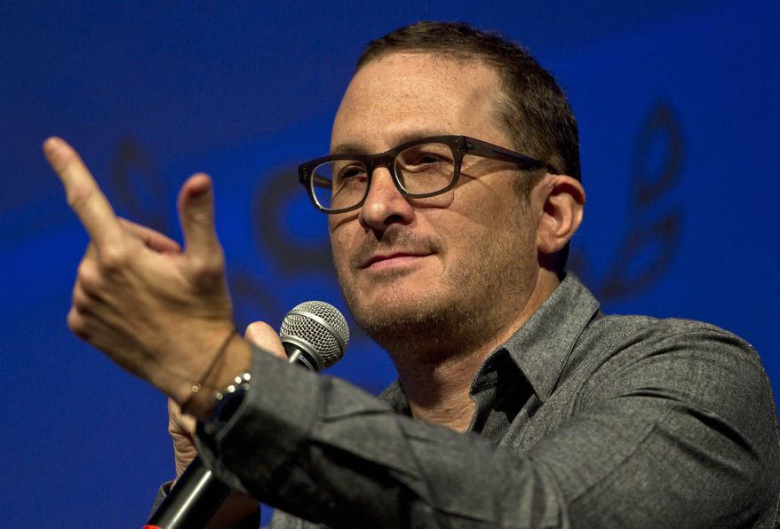 U.S. film Director Darren Aronofsky takes questions during a conference at the International Film Festival in Guanajuato, Mexico, Saturday, July 27, 2013. (AP Photo/Christian Palma)