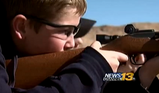 Students at a Colorado middle school were able to get firsthand experience with gun safety after their class was taken on a field trip to a firing range. (KRDO)