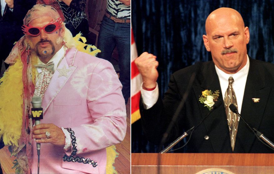 "James George Janos better known by his stage name, Jesse ""The Body' Ventura, a former professional wrestler and actor who served as the 38th Governor of Minnesota from 1999 to 2003."
