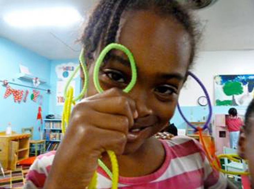 This undated photo provided by the Federal Bureau of Investigation shows Relisha Tenau Rudd. On Monday, March 24, 2014, authorities released more photos of Relisha, 8, who was reported missing in Washington last week, and a man who may be with her, 51-year-old Kahlil Malik Tatum. Police in Prince George's County, Md., obtained a warrant on Friday charging Tatum with murder in the death of his wife, whose body was found in an Oxon Hill, Md., motel room. (AP Photo/FBI)