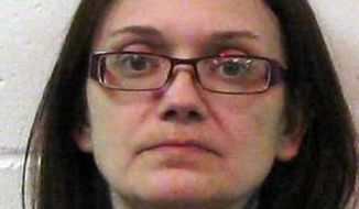 This photo provided by the Ward County Sheriff's Office shows Jessica Lee Jensen, of Kenmare, N.D. Authorities say Jensen, whose 13-year-old son weighed 21 pounds when he died in January, has been charged with murder and neglect, Tuesday, March 25, 2014. (AP Photo/Ward County Sheriff's Office)
