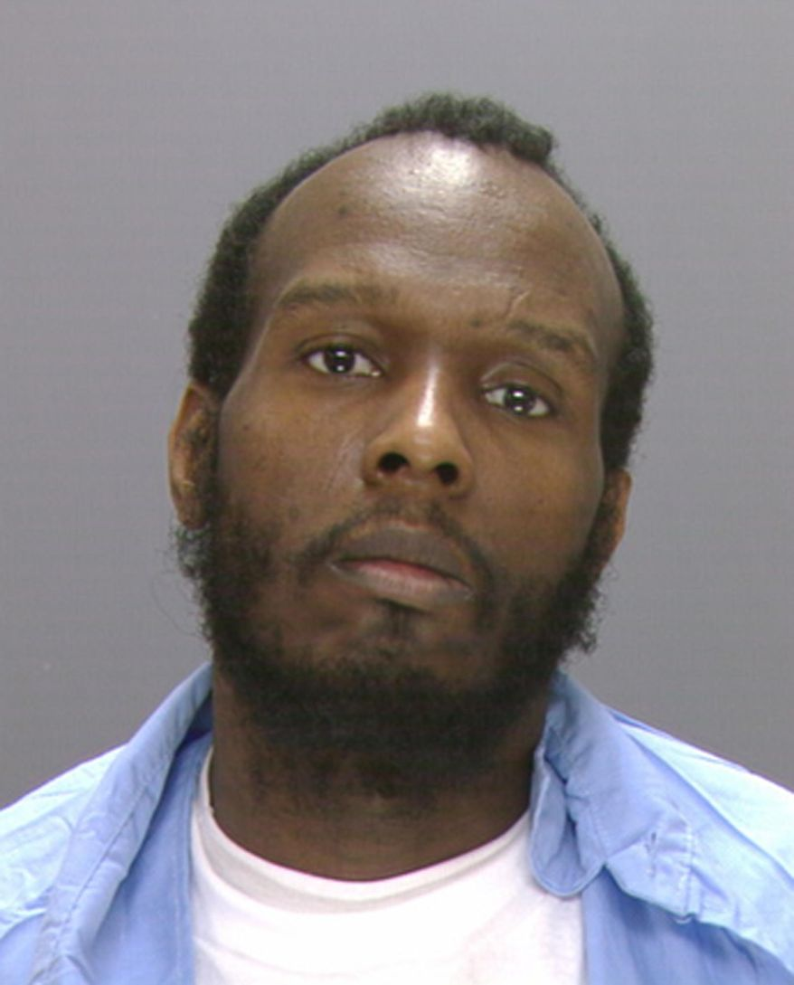 This undated photo provided by the Philadelphia Police Department shows 35-year-old Marcellus Jones.  Prosecutors say an indicting grand jury charged Jones on Monday, March 25, 2014 with with murder, conspiracy, robbery and other counts in the May 2008 murder of 23-year-old Beau Zabel. Jones is already serving a life sentence in another murder case. Authorities said Zabel had moved from Austin, Minn., and was scheduled to start work in the public schools. (AP Photo/Philadelphia Police Department)