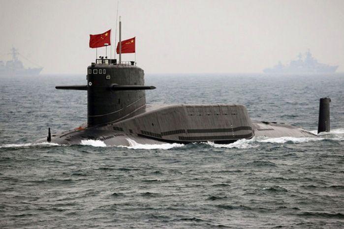 ** FILE ** China's Xia-class nuclear ballistic missile submarine. (Associated Press)