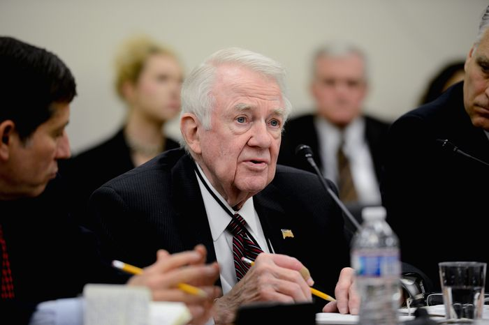 """Edwin Meese, a head of a commission investigating FBI counterterrorism efforts, says the panel will examine revelations about a human asset in direct contact with Osama bin Laden in the early 1990s. One of the panel's mandates, he said, is to dig into """"what evidence wasn't known to the 9/11 Commission."""" (Andrew Harnik/The Washington Times)"""