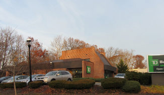 The American Atheists are outraged after a group official says she was denied service by a particular notary at a TD Bank in Cranford, N.J., (pictured) simply because she's an atheist. (Google Maps: Adam Elmquist)