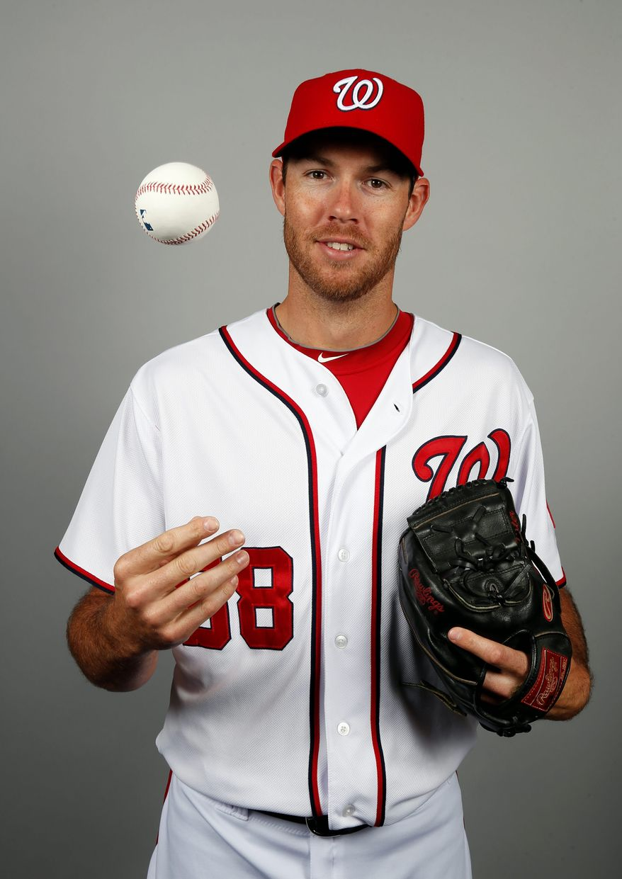 "Doug Fister follows his father's advice: ""Go out there ... and let your actions show what you're all about."" (Associated press)"
