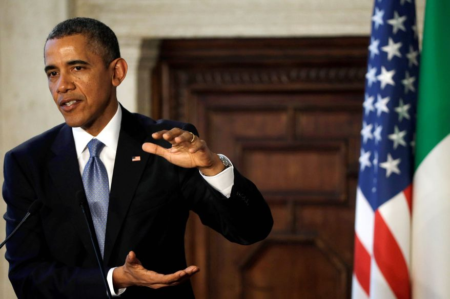 President Obama announced on Thursday that 6 million people have enrolled in health exchanges, putting the administration over its revised goal four days before the deadline. (Associated Press)