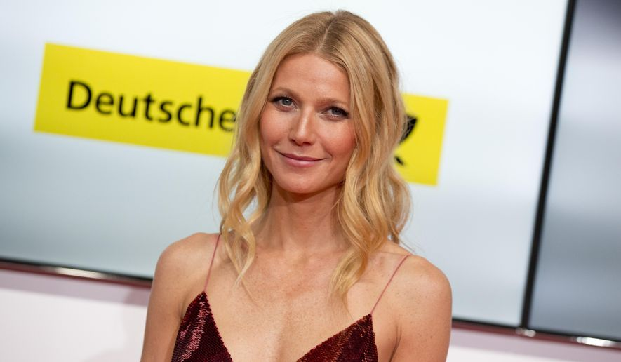 This Feb. 1, 2014, file photo shows American actress Gwyneth Paltrow at the Goldene Kamera (Golden Camera) media awards in Berlin, Germany. (AP Photo/Axel Schmidt, File)